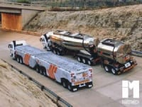 7. Liquid and solid load trailer